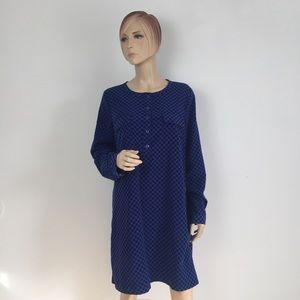 Gap Deborah Pocket Polka Dot Shift Dress Large
